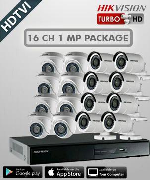 paket cctv hikvision 16 CH 1 MP