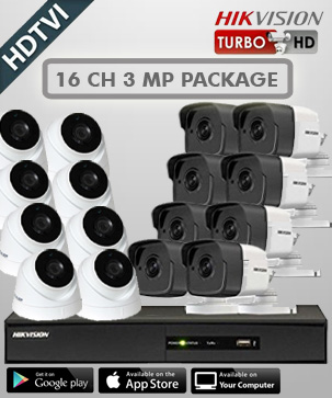 paket cctv hikvision 16 CH 3 MP