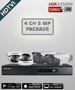 Hikvision HD 4 CH 5 MP