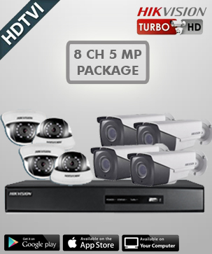 Hikvision HD 8 CH 5 MP